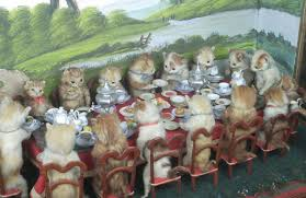 Image result for anthropomorphic taxidermy
