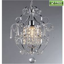 rosalie 1light antique bronze 11 inch crystal chandelier light multi