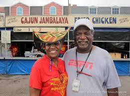 fried chicken vendors at Jazz Fest | New orleans, Jazz fest, Cajun jambalaya