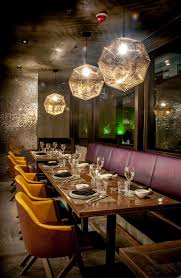 restaurant bar lighting. led custom made light pendants from skyelume fully installed with edison globes industrial restaurantrestaurant barbar restaurant bar lighting e