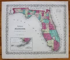 North America Xiv Florida Geographicus Rare Antique Maps