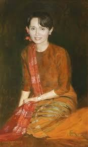 five portraits from the university of oxford breaking the  aung san suu kyi