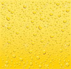 Water Droplets Background Yellow Water Drops Background Royalty Free Cliparts Vectors And