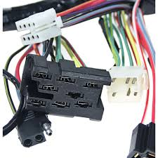 mustang under dash wiring harness gt without tachometer 1968 1966 mustang under dash wiring harness at Under Dash Wiring Harness