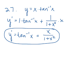 Derivatives Of Inverse Trig Functions Math Derivatives