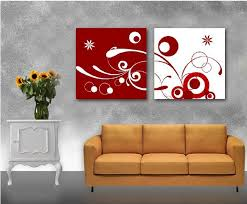 free 2panels hot modern simple abstract picture decorative canvas painting living room paint wall hanging