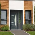 Modele de porte d'entree aluminium
