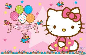 Free Birthday Backgrounds Hello Kitty Birthday Wallpapers Top Free Hello Kitty