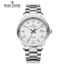 online get cheap swiss automatic watch movement aliexpress com reef tiger rt business men top grade luxury dress watch swiss automatic movement mens 316l