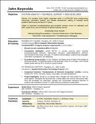 Cover Letter Resume Job Objective Sample Resume Job Objective