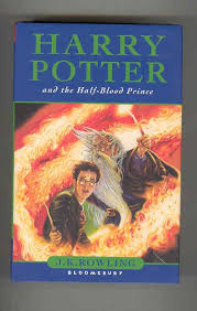 harry potter and the half blood prince misprinted copy rowling j k