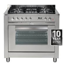 Why Dual Fuel Range Hotpoint Eg900xs 90cm Dual Fuel Range Cooker In Stainless Steel