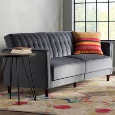 Save Grey Tufted Sofa E76