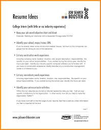 Sample Resume Objectives In Hospitality Industry New Sample Resume