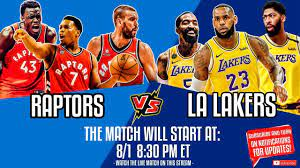 Los Angeles Lakers vs Toronto Raptors | Lakers vs Raptors NBA Live Stream