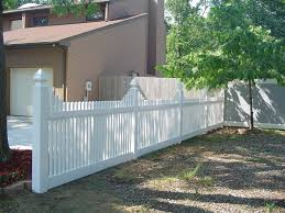 vinyl picket fence front yard. Spaced Picket Vinyl Fence Front Yard