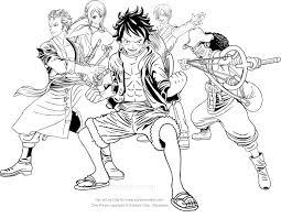 Disegno Di One Piece Da Colorare