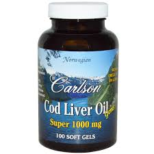 Carlson Labs, <b>Wild Norwegian Cod Liver</b> Oil Gems, Super, 1,000 mg ...