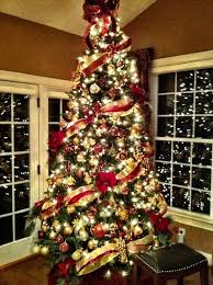 christmas trees decorated with red ribbon. Interesting Ribbon Top 10 Inventive Christmas Tree Themes Wwwfacebookcomloveswish For Trees Decorated With Red Ribbon D