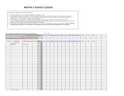 General Ledger Templatecel Samples Accounting Ledgers Sample Data