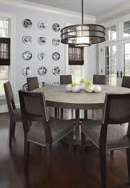 72 inch round dining table dining room contemporary with centerpiece crown molding dark