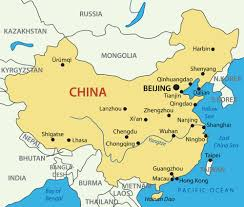 states of china map