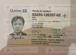 Id 79 Fakeidcanada com Quebec Fake -