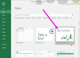 online cash flow calculator learn how to use the my cashflow template with excel 2016 office