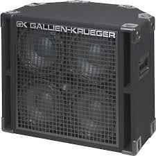 Gallien-Krueger 410RBH 800W 4x10 Bass Cab with Horn | Musician's ...