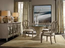 image of 60 inch round contemporary dining table