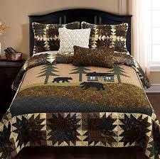 cozy cabin quilt sets cabin place