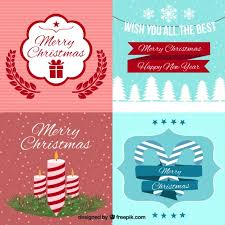 free beautiful christmas cards beautiful christmas cards in vintage style vector free download