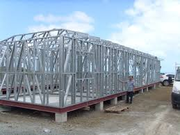 Prefab A Frame House Prefabricated Light Steel Frame Houses Moveable Hard Prefab House