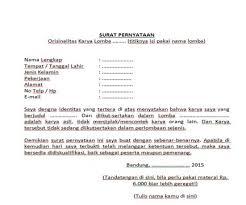 Contoh format surat pernyataan keabsahan dan kebenaran dokumen. 18 Contoh Surat Pernyataan Bermaterai Mengenai Keaslian Dokumen