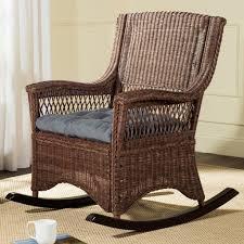 Safavieh Aria <b>Rocking Chair</b>, <b>Brown</b> | Patio <b>rocking chairs</b>, Rocking ...