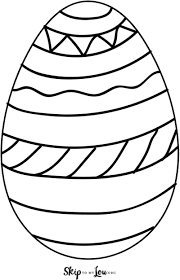 What will hatch from your colorful easter egg? Easter Egg Templates For Fun Easter Crafts Skip To My Lou