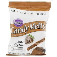 Wilton Light Cocoa Candy Melts Wilton Candy Melts Light Cocoa 12 Oz Walmart Com