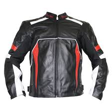 german wear leather motorcycle motorbike cowhide combi jacket black red white german wear bavarian motorrad sport dresses shoes