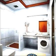 Bathroom:Bright Small Bathroom Design Idea Also Corner Shower Room And  Washing Machine Small Space