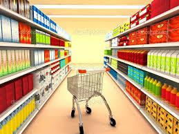 Мерчандайзинг это Что такое мерчандайзинг его эволюция и  supermarket 3d rendered image