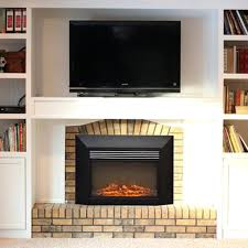28 inch electric fireplace insert look no a firebox insert muskoka 28 electric fireplace insert