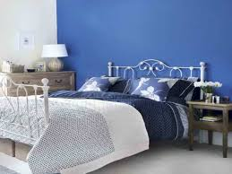 romantic blue master bedroom ideas. Navy Blue Accent Wall With Floral Toss Pillows For Romantic Master Bedroom Ideas Elegant Metal Bed Frame And Rustic Dresser G