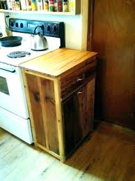 Lovely Double Garbage Can Wooden Garbage Box Double Wooden Trash Bin Kitchen Can  Holder Plans Wood For .
