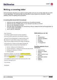 how to do a cover letter writing a covering letter