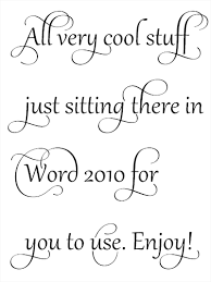 20 Cool Fonts Of Ms Word Themes Company Design Concepts For Life