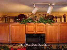 Above Kitchen Cabinets Ideas Custom Inspiration Ideas