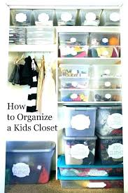 deep narrow closet organization ideas