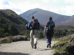 outdoor activities. Outdoor Activities In Scotland. Walking The Cairngorms. Credit Scot Mountain Holidays