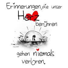 Erinnerungendie Unser Herz Berühren Gehen Niemals Verloren
