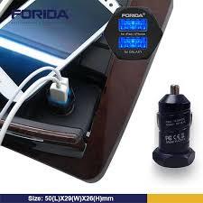 forida white black portable input 12v 24v output 5v 3 1a dual usb forida white black portable input 12v 24v output 5v 3 1a dual usb car charger